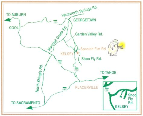 Garden Valley California by Directions