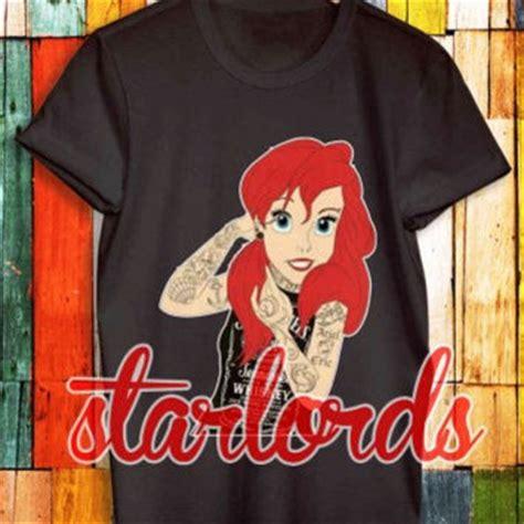 tattooed ariel shirt best tattooed disney shirts products on wanelo