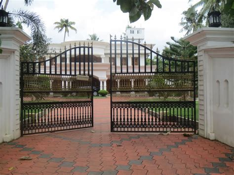 modern homes iron entrance gate designs ideas amazing