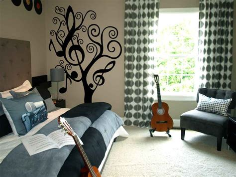music bedroom wallpaper music tree large decals trading phrases