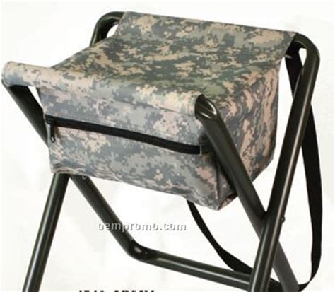 U S Army Digital Camo Padded Swivel Bar Deluxe Army Digital Camouflage Folding C Stool With