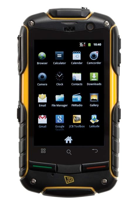 rugged android jcb s ruggedized android smartphone launches in the uk android central