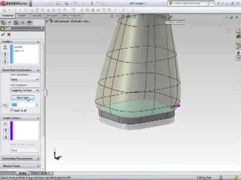 lofted sheet metal solidworks solidworks sheet metal tutorial lofted bends doovi
