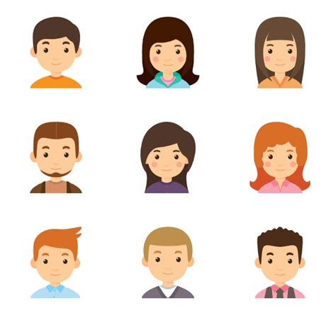 People Icons - 20,213 free vector icons