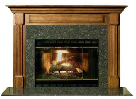 stately cherry finished 42 quot birmingham fireplace mantel