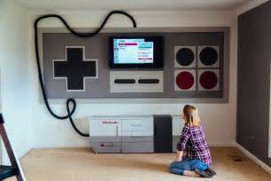 N64 Room by Nes Themed Home Theater Business Insider