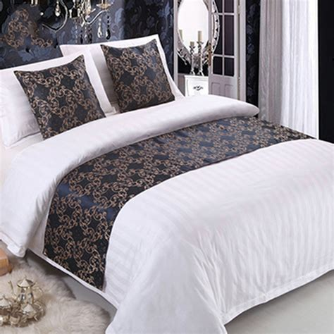 Bed Runner Ukuran 2 5 Meter 1 vintage bed runner two layers home hotel bedroom bedding decoration towel flag ebay