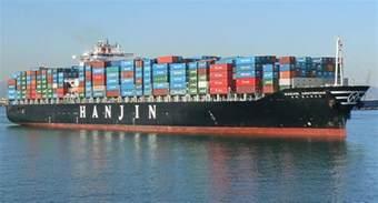 hanjin shipping assets frozen bankruptcy fishing tackle retailer