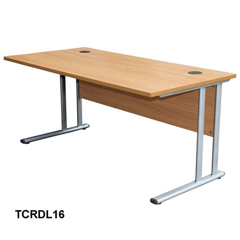 Large Work Desk Rectangular Work Desk Large 725h X 1600w X 800d Mm Ebay