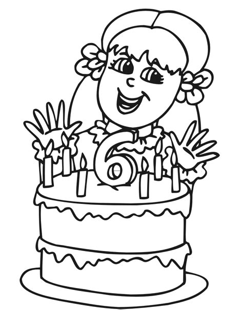 birthday coloring pages for 4 year olds coloring pages happy 6 birthday this 6 year old birthday