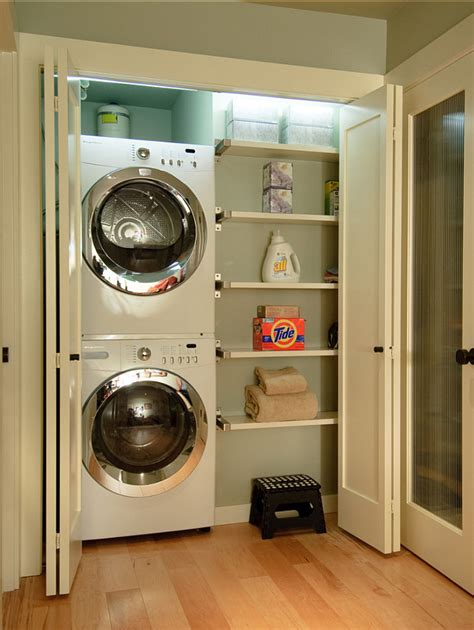 small laundry ideas the idea of a closet laundry