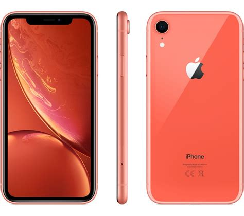buy apple iphone xr  gb coral  delivery currys