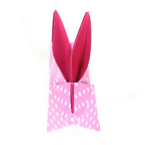 Origami Moon Rabbit - how to make a traditional origami moon rabbit page 11