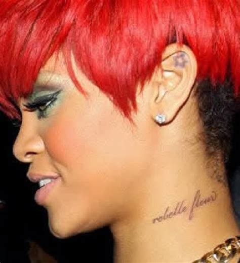 rihanna hip tattoo tattooz designs rihanna tattoos meaning rihanna tattoos