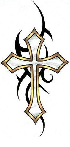 thin black cross tattoo thin blue line idea my style