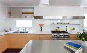 tempered glass backsplash kitchen contemporary with