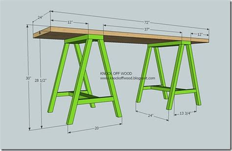Sawhorse Worktable Live The Home Let S Make A Deal The Sawhorse Worktable