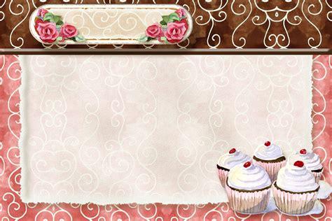 Cupcake Recipe Card Template by Cupcake Recipe Card Plantillas Recipe