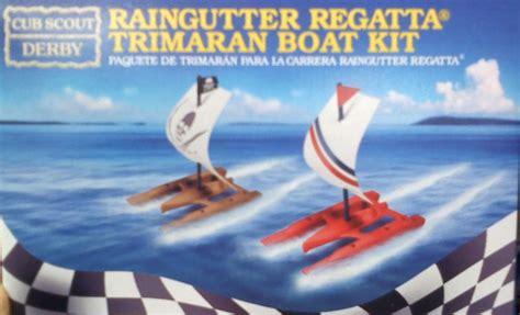 trimaran kit boat make an award winning raingutter regatta trimaran boat kit