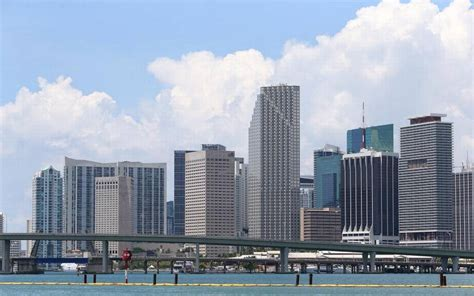Of Miami Mba Real Estate by Interactive 3d Map Showcases Downtown Miami Skyline