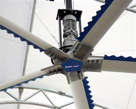 High Volume Low Speed Fans Industrial Ventilation