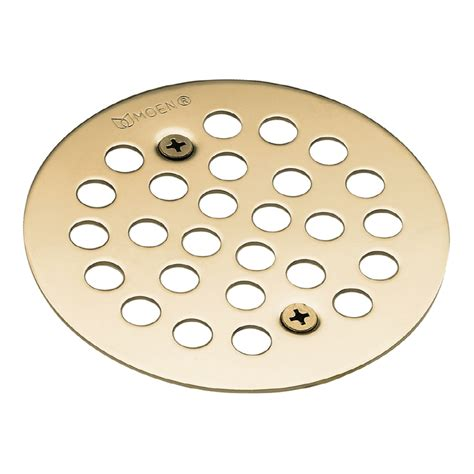 Rubbed Bronze Shower Drain Cover by Shop Moen Rubbed Bronze Metal Drain Cover At Lowes