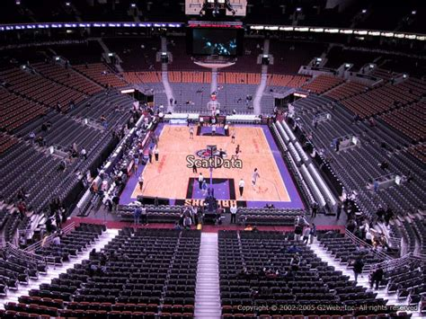 section 5 games air canada centre section 315 seat views seatscore