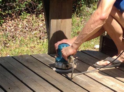 wooden deck refinishing restoration  glass act