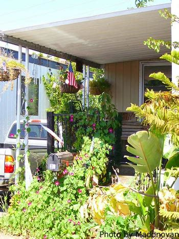 awnings for mobile home porches mobile home porch design for comfort and curb appeal
