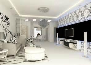 une d 233 co de salon n 233 o baroque en noir blanc d
