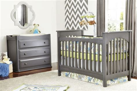 Grey Crib With Changing Table Pin By Berry Carpenter Kingi On The