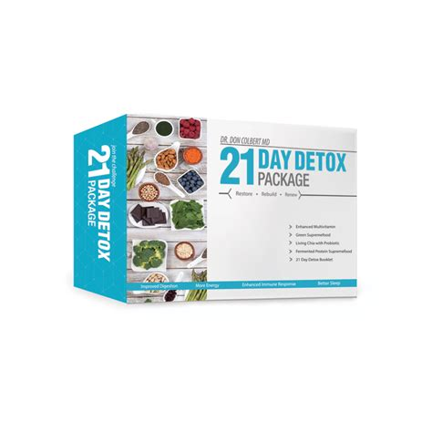 Dr Colbert Detox Program by 21 Day Detox Package Personal Care Cosmetics