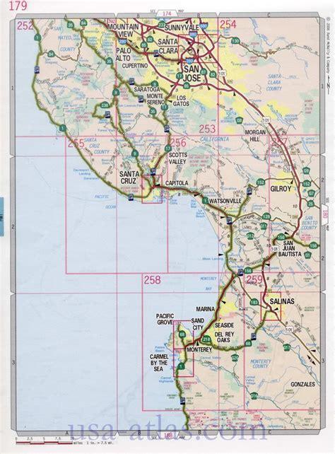 printable maps ucsc as 25 melhores ideias de maps santa cruz no pinterest