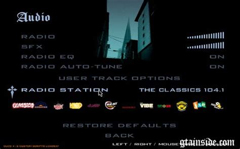 san andreas radio x gta san andreas gta iv radiostations to gta sa mod