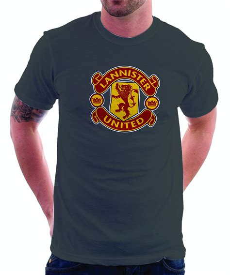Tshirt Sablon United Limited Edition Of Thrones Manchester United Logo