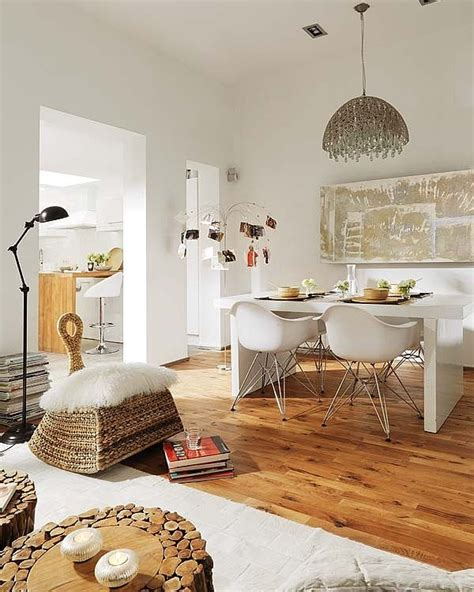 go eclectic and chic in the dining room eclectic apartment with modern style to get total comfort