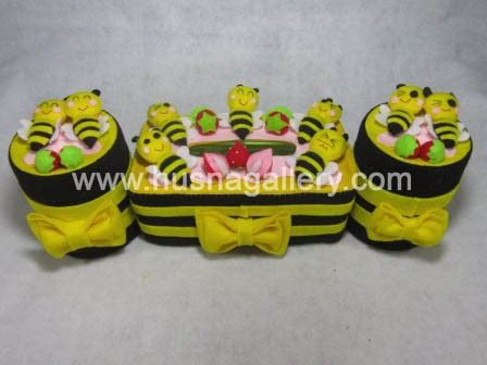 Paket 1 Tempat Aqua Gelas Hias Tissu pp 31 paket tempat tissue hias flanel lebah gallery toko