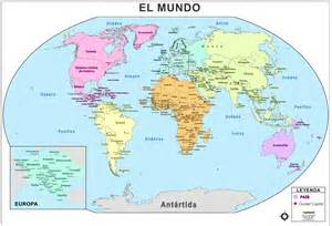 map for the world map of world spain my