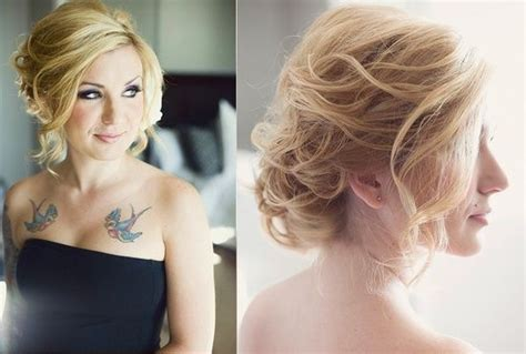 front and back hairstyles for wedding loose updo