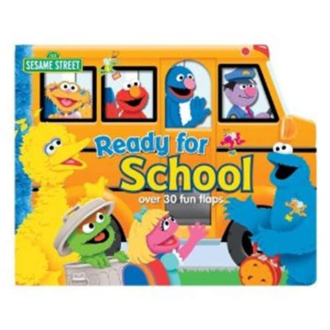 Elmo Goes To School Left The Flap Board Book and november 2011