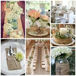 burlap decor burlap wedding decor