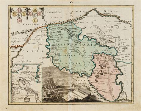 middle east map babylon mesopotamiae assyriae et babyloniae weigel middle