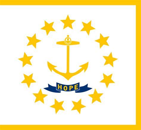 Embelem Logo Ri file flag of rhode island svg