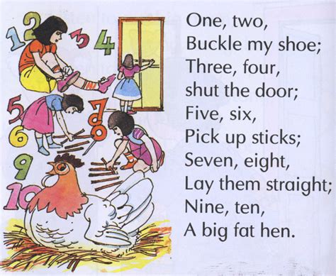 one two buckle my 16 most wonderful nursery rhymes we still remember by