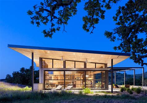 clean green california house design