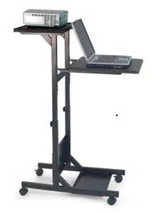 mobile laptop desk stand h wilson mobile laptop stands for presentation laptop