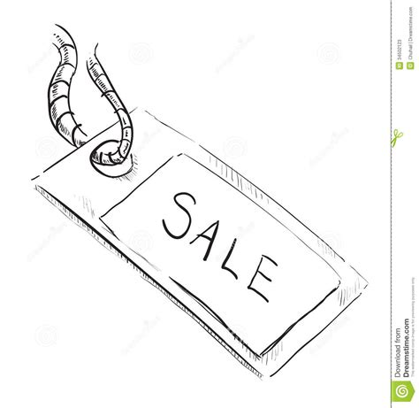 doodle drawings for sale sale luggage tag icon stock photos image 34502123