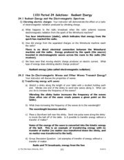 section 18 1 electromagnetic waves worksheet the electromagnetic spectrum course hero