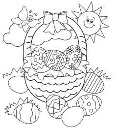 easter basket coloring pages free easter colouring pages the organised
