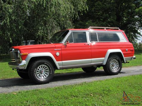 jeep cherokee chief rare classic 1979 jeep cherokee chief s model